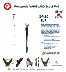 170904 RH - MONOPODE SCOUT M62 - 34 EUR